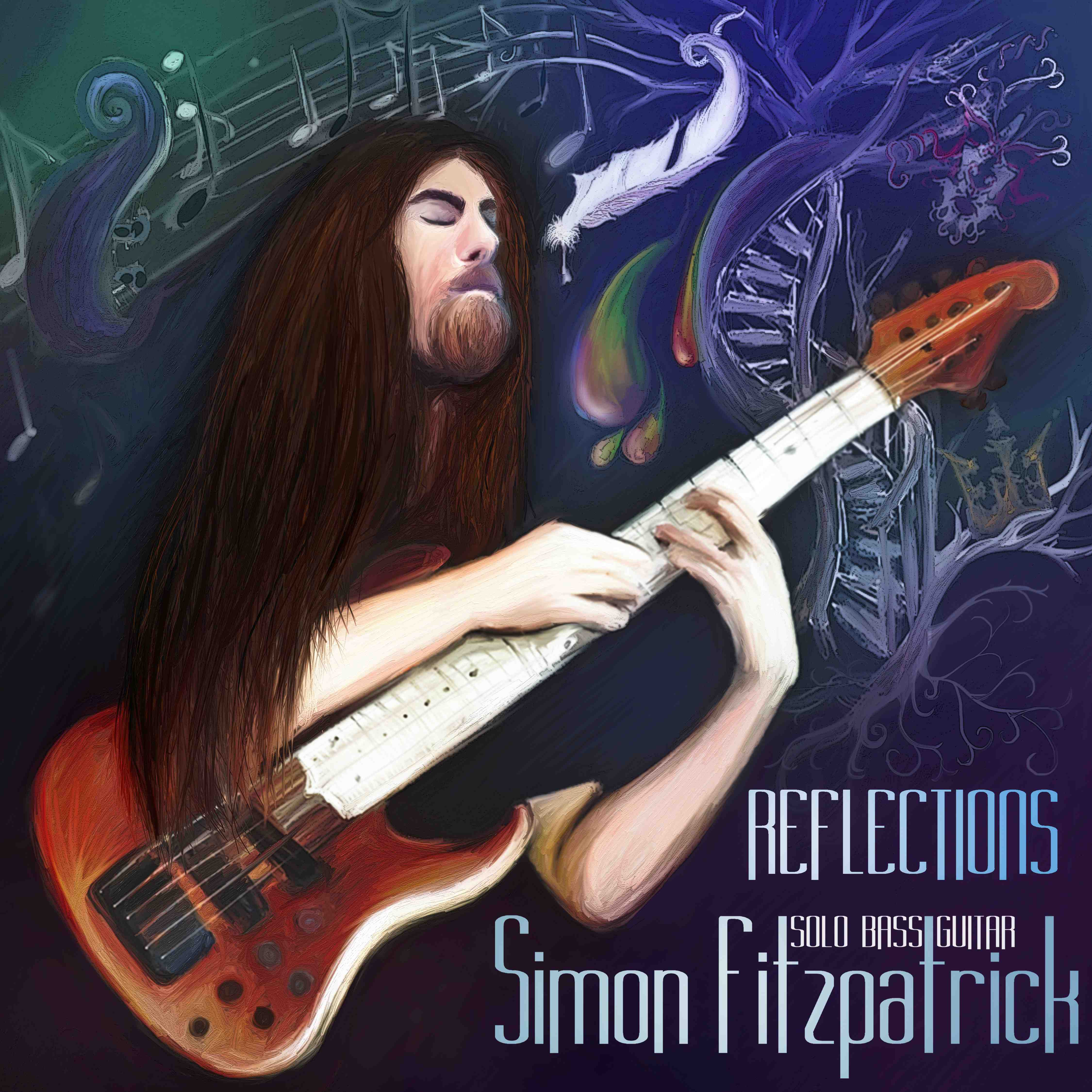 "Click Here to Purchase ""Reflections"", my solo bass guitar album"