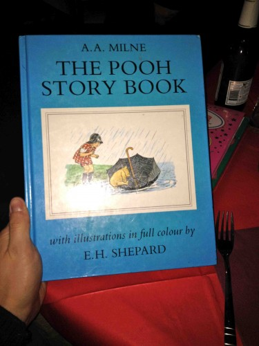Pooh is on the Menu